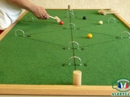 CROQUET SUR TABLE