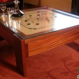 TABLE CARROM BOIS 1